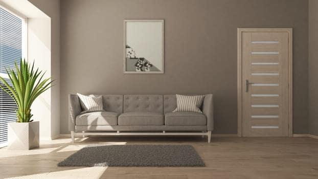 3d Contemporary Living Room Interior Modern Furniture