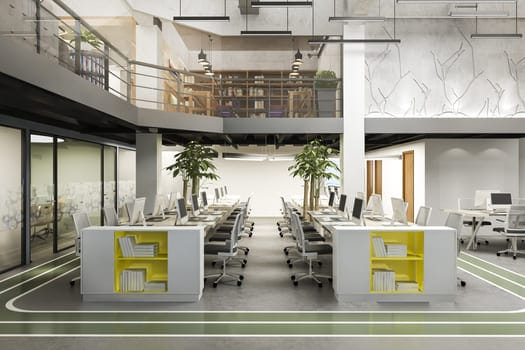 Business Meeting Working Room Office Building