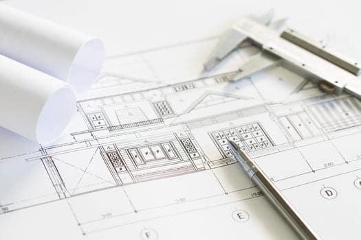 Construction Plans Drawing Tools Blueprints