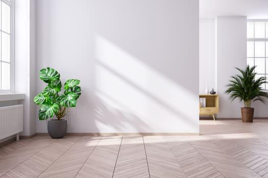 Modern Minimalist Interior Living Room