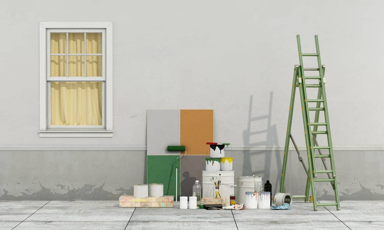 Peindre Une Façade De Maison