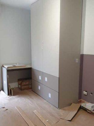 Rénovation de chambre appartement après